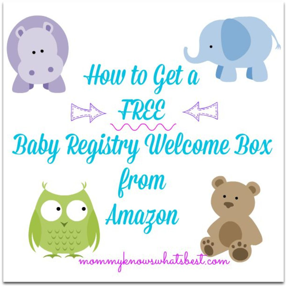 Go to Mommy Knows What's Best to find out how to get your free welcome box!