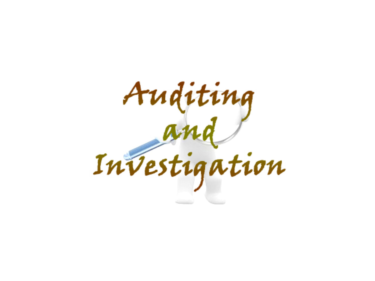 Difference between Auditing and Investigation
