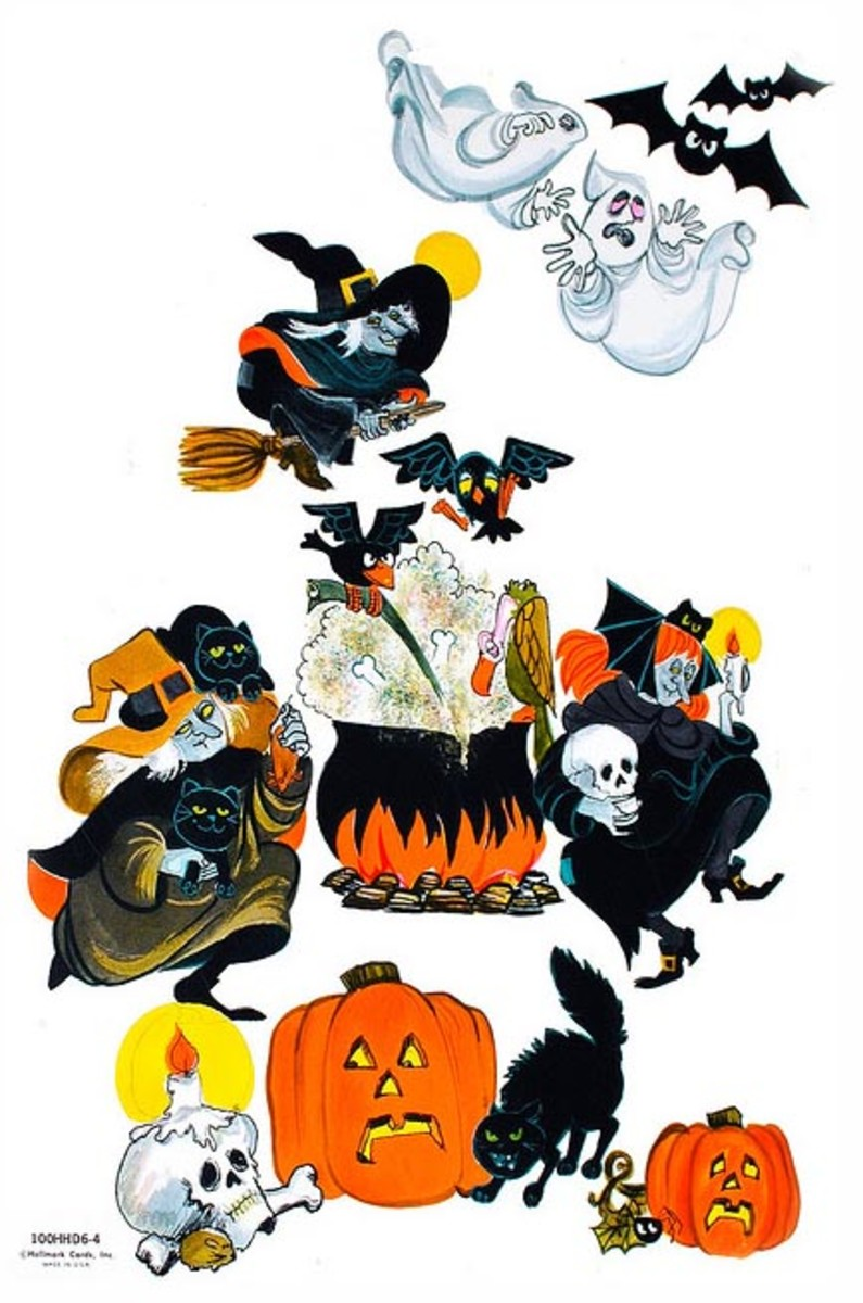 Start Collecting Vintage Halloween Die Cuts