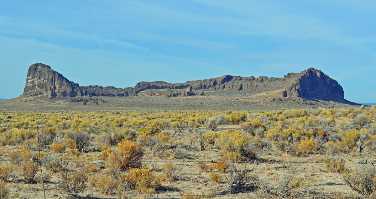 Hiking Trails In Central Oregon Fort Rock State Park