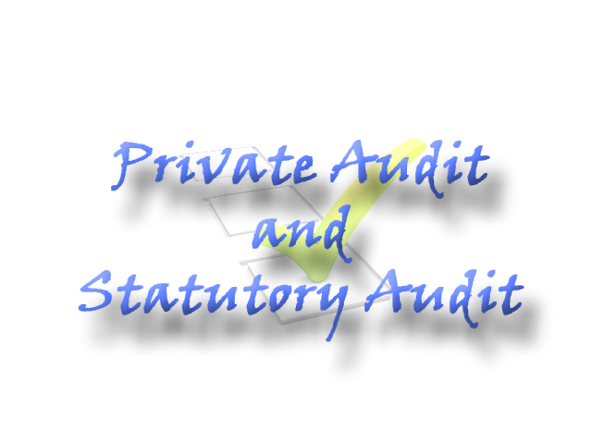 Private Audit and Statutory Audit