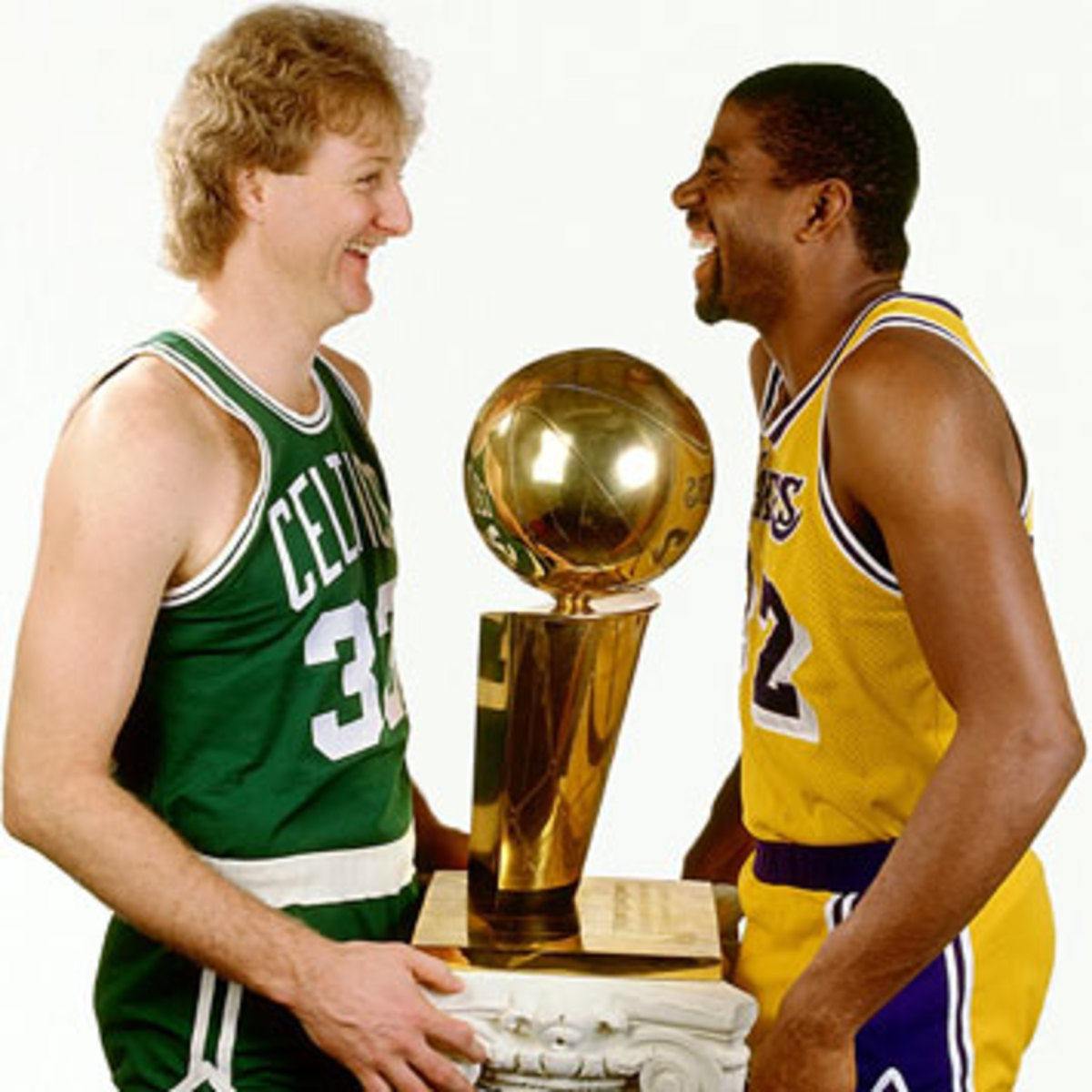 """The first thing I would do every morning was look at the box scores to see what Magic did. I didn't care about anything else.""   ~Larry Bird"