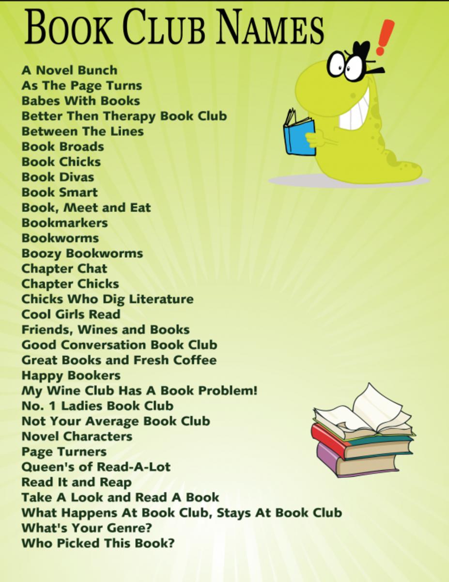 book club girl social