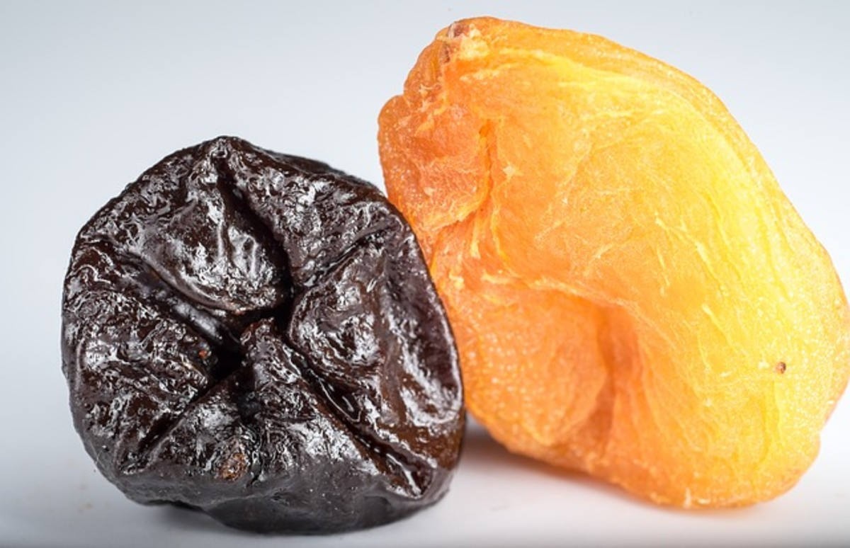 Dried prunes and apricots are one of the best home remedies for constipation.
