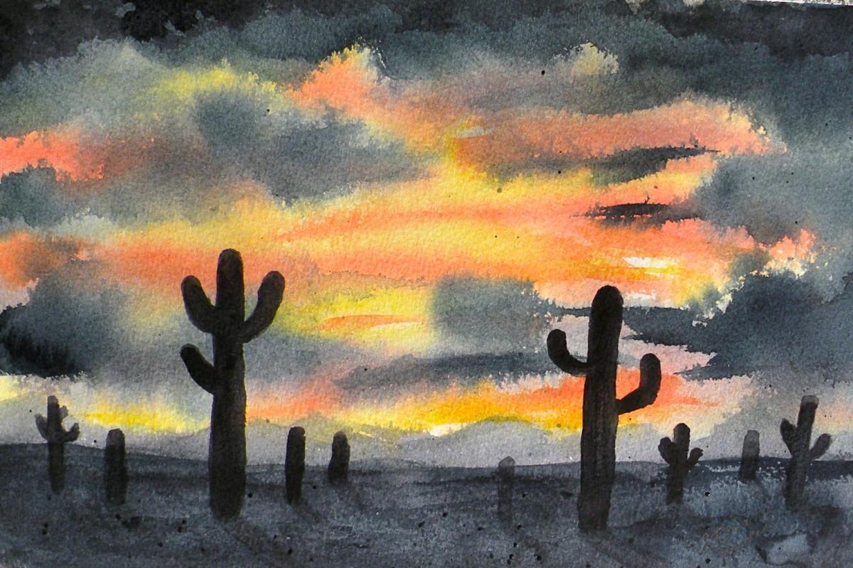 Watercolor Painting by Stephanie Henkel