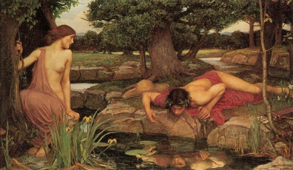Echo and Narcissus :