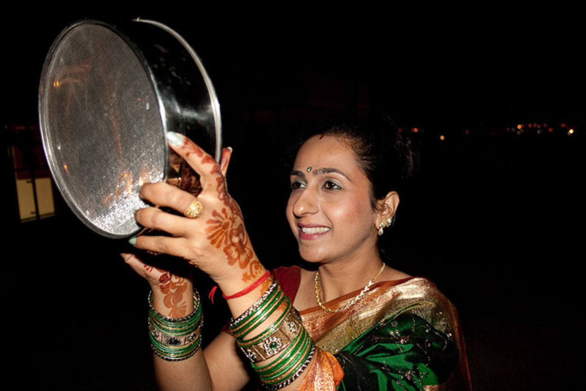Karva Chauth (2015) - A Festival Of Hindu Married Women - 30 October 2015