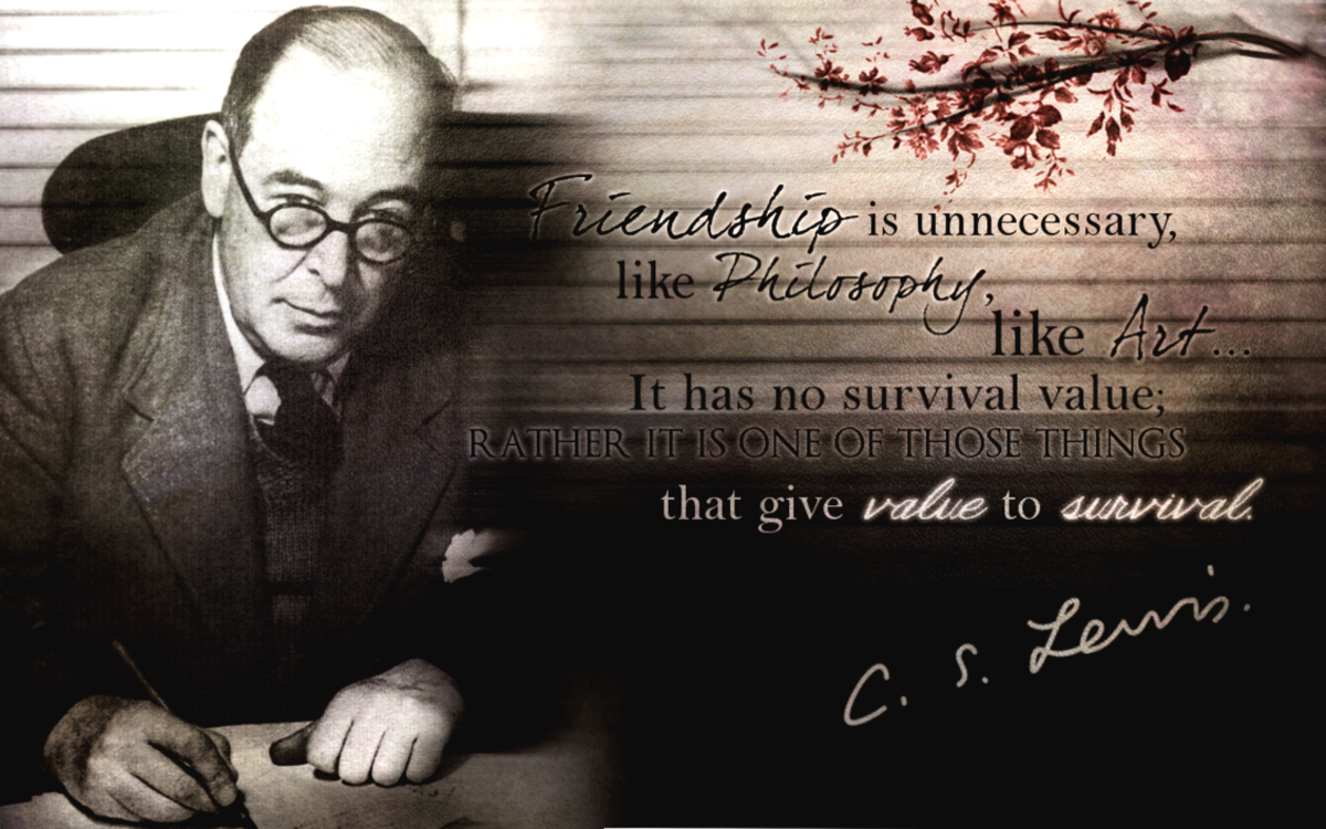 QUOTES BY C S LEWIS