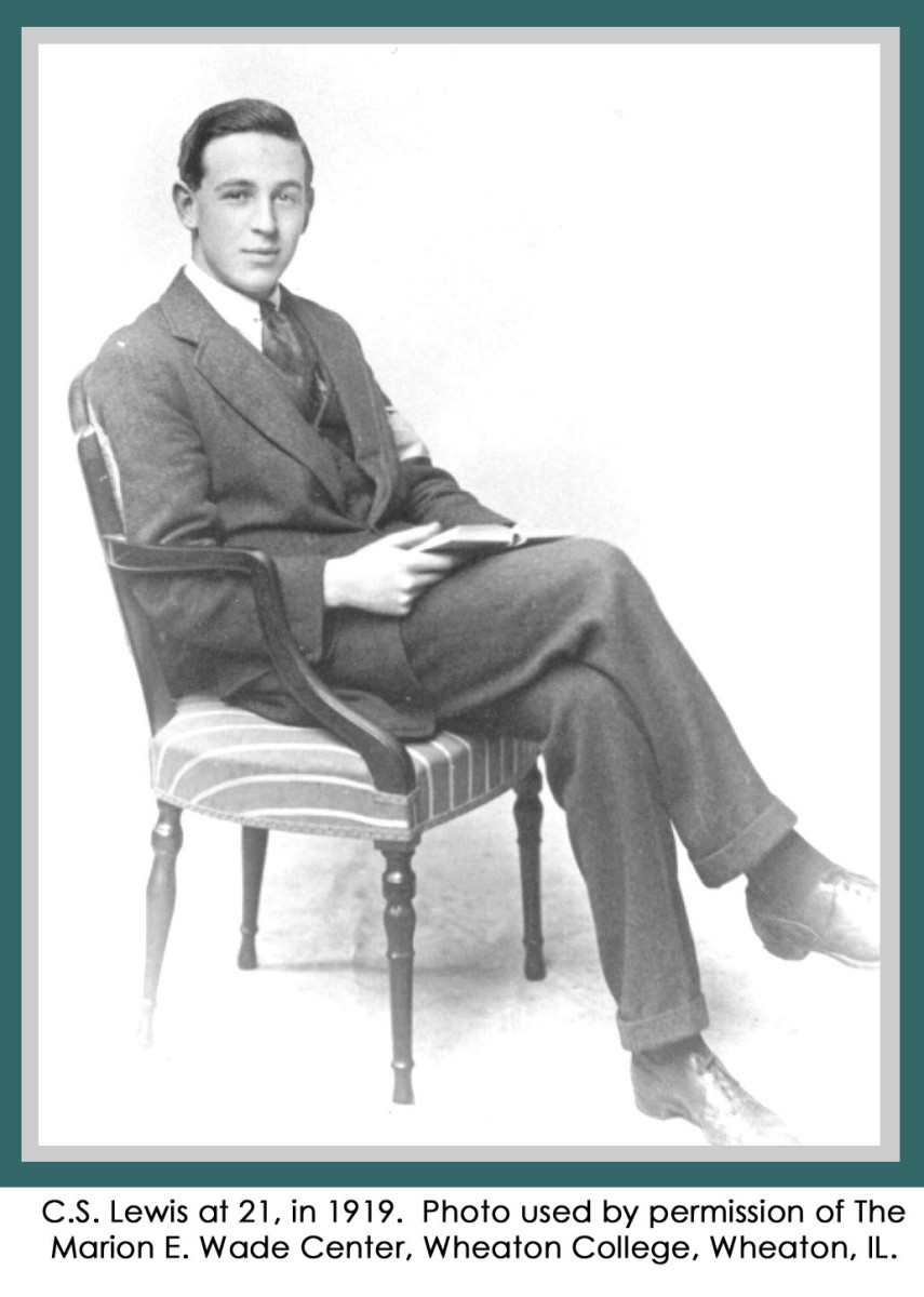 C. S. Lewis as a young man