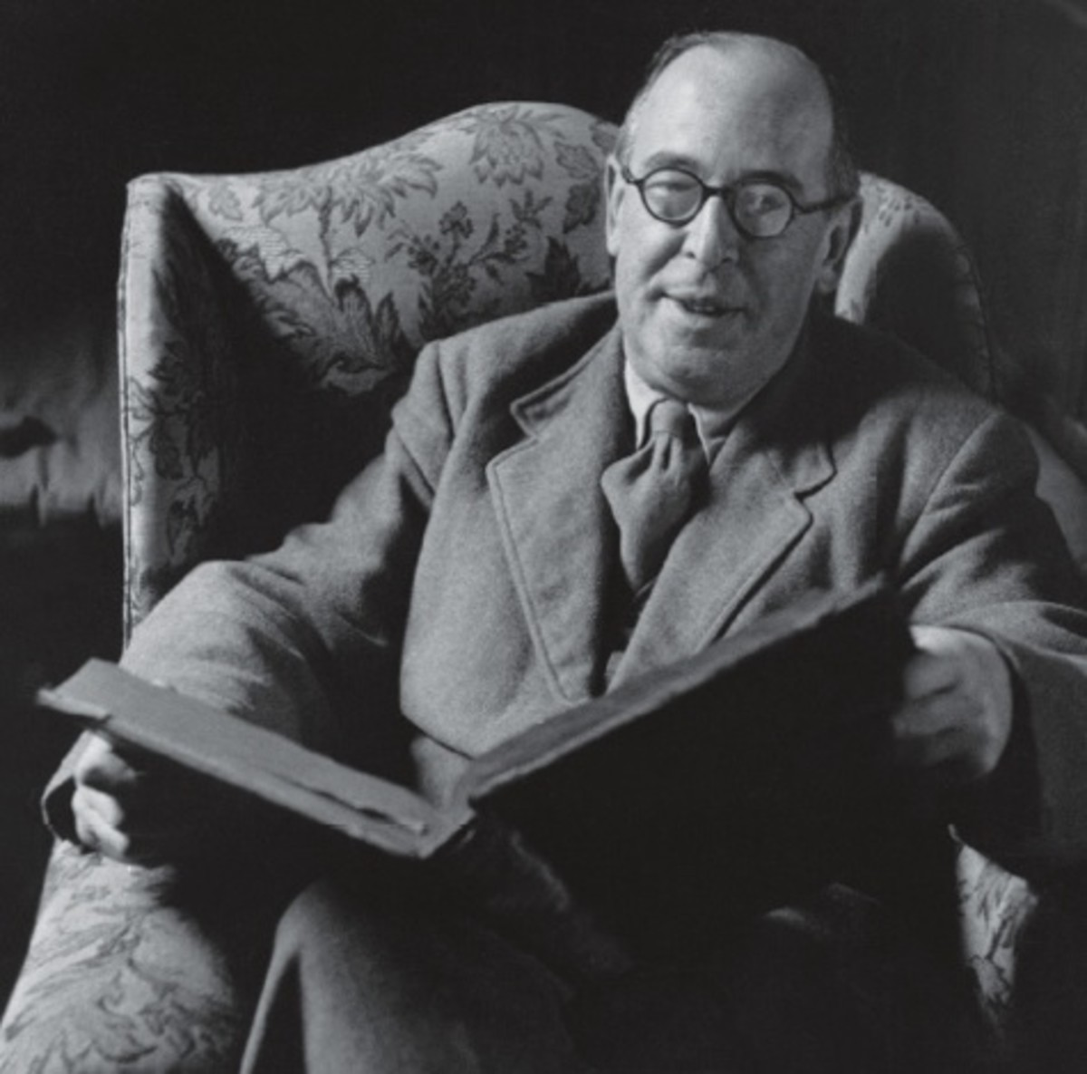 C. S. LEWIS as an older man