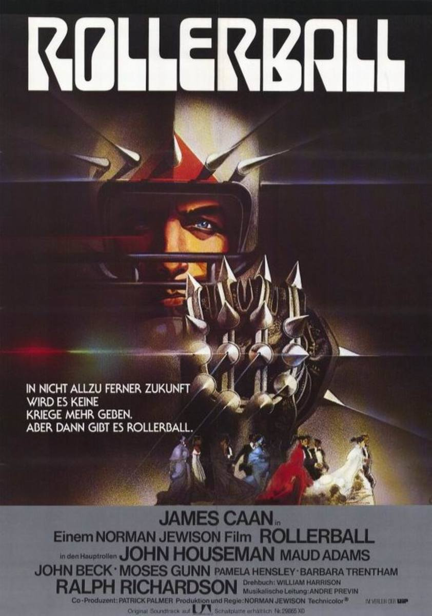 Rollerball (1975) German poster