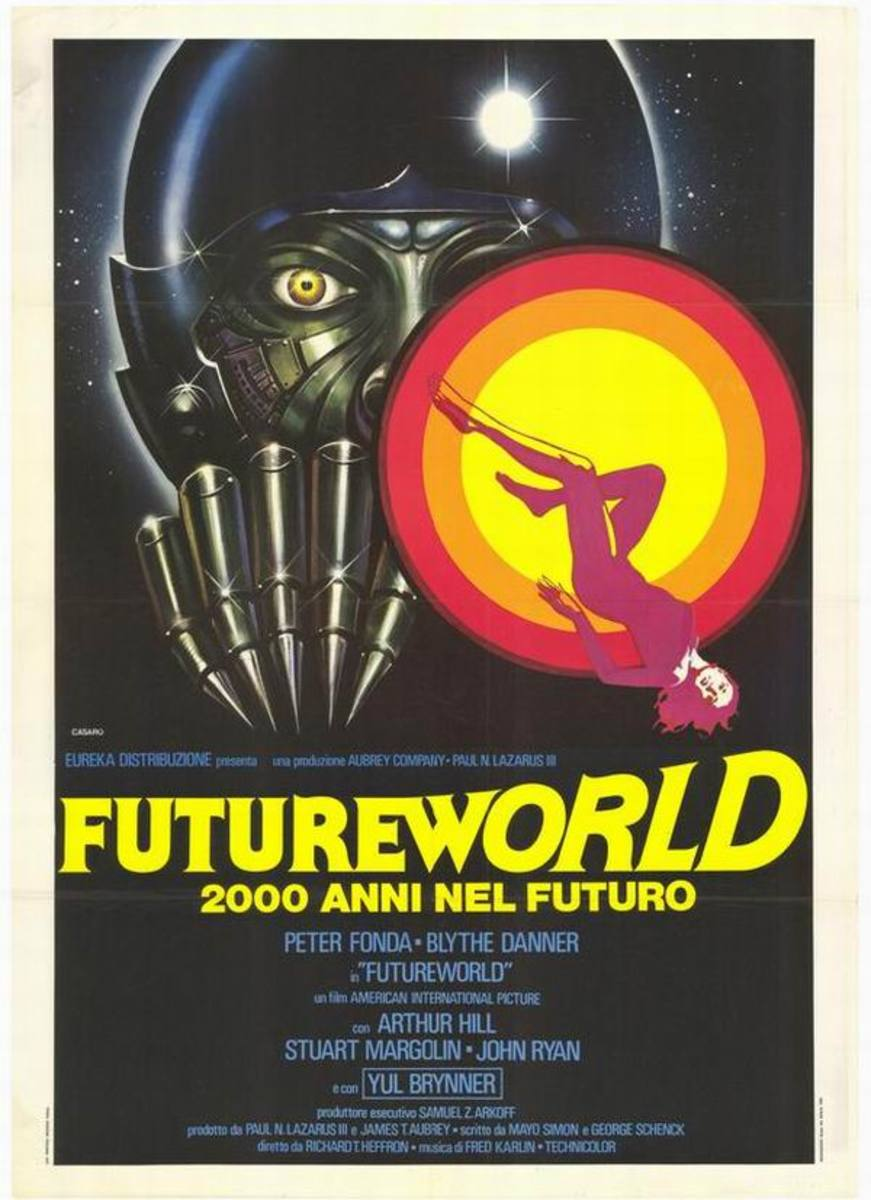 Futureworld (1976)  Italian poster