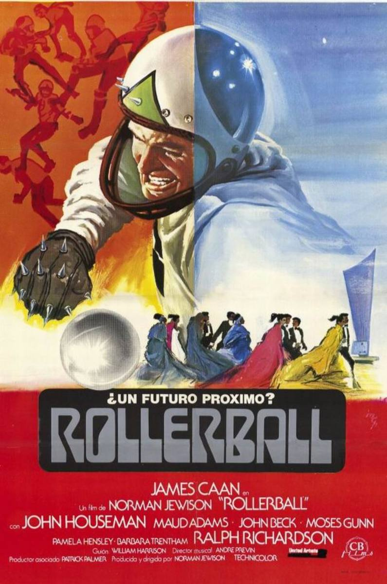 Rollerball (1975) Spanish poster