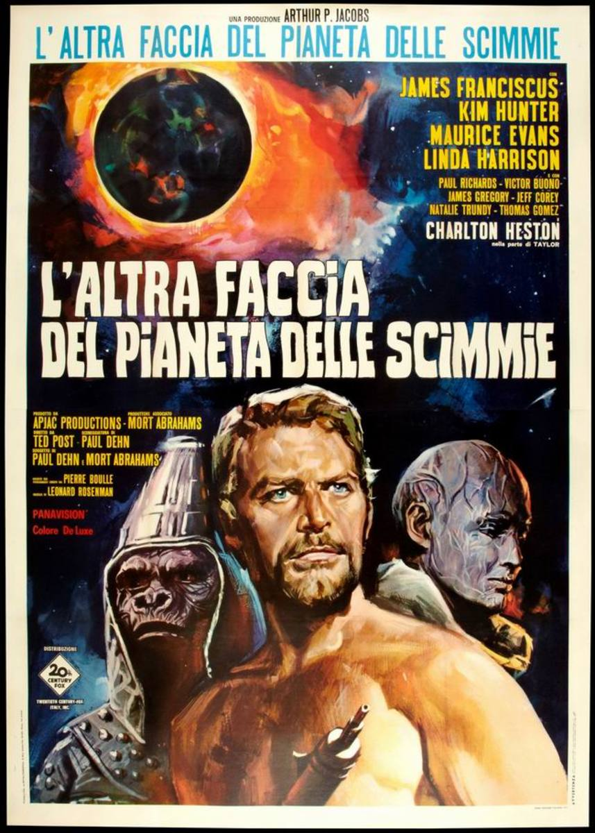 Beneath the Planet of the Apes (1970) Italian poster