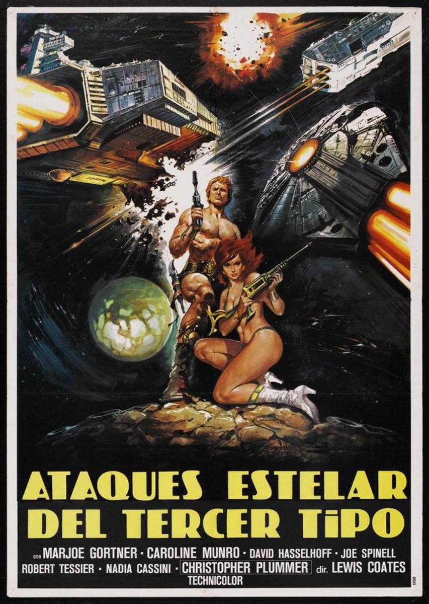 Starcrash (1979) Spanish poster