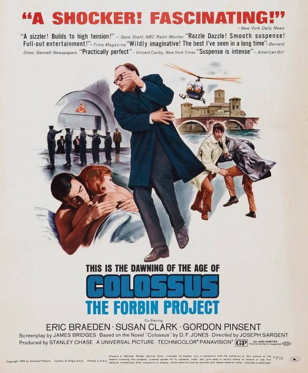 Colossus The Forbin Project (1970)