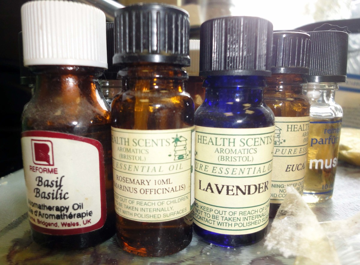 Selection of Aromatherapy Oils for Fragrance