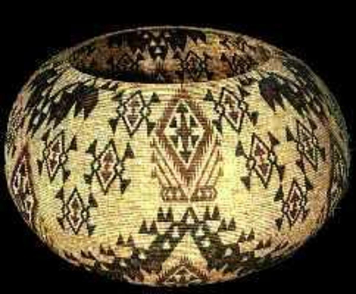 Basket by Carrie Bethel, c. 931
