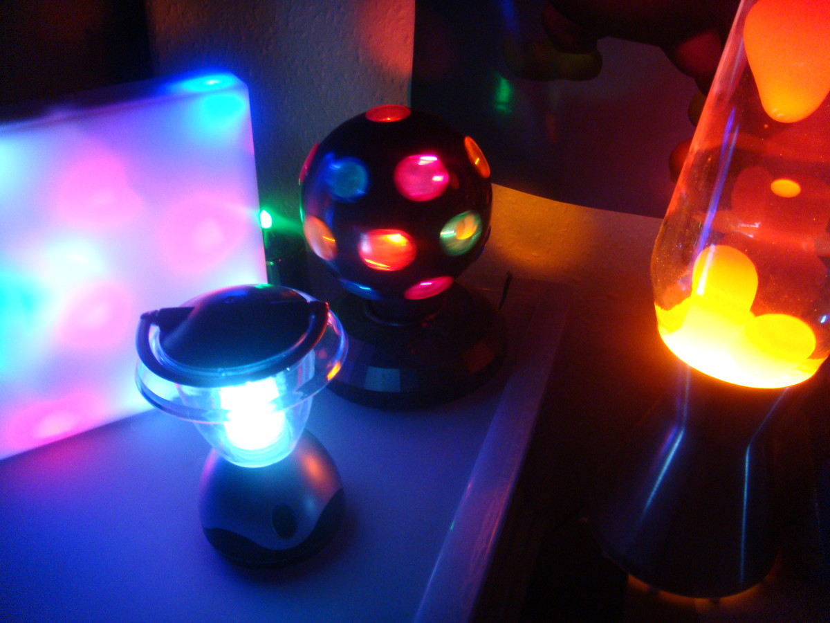 Turn your child's room into a multi sensory room