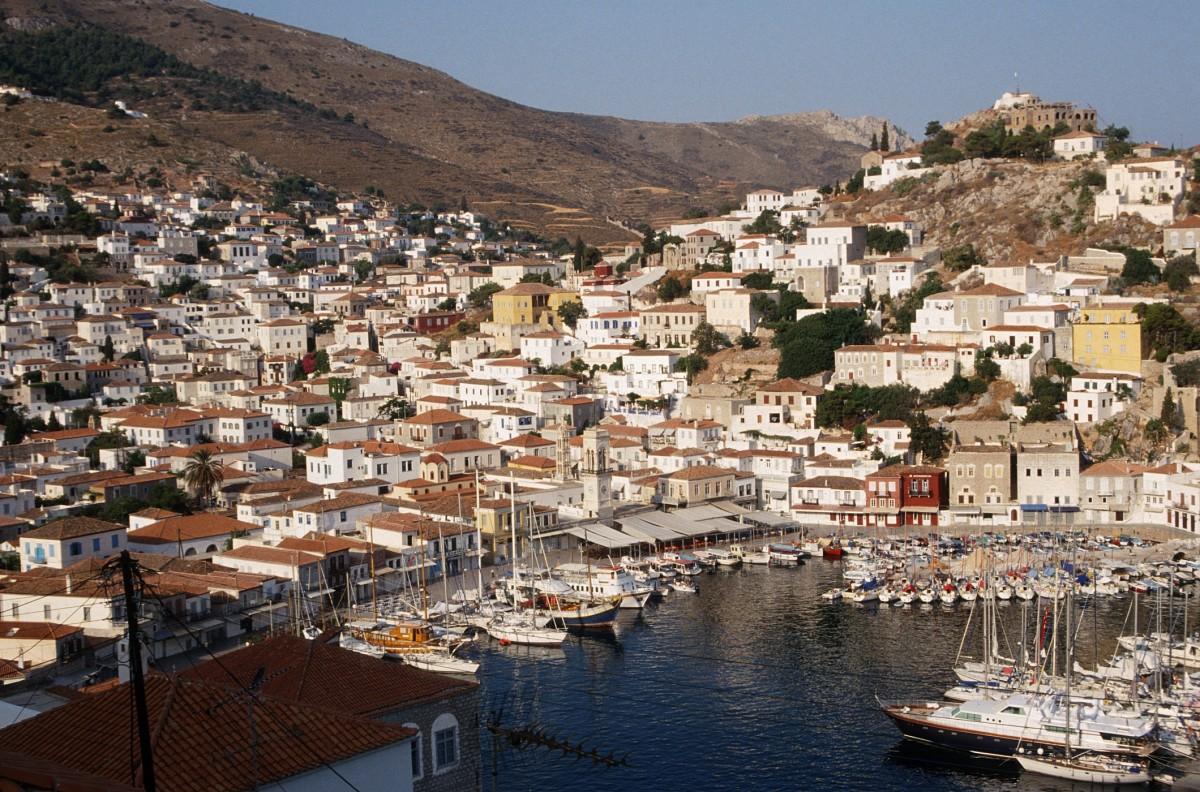 Hydra -- a paradise Greek island