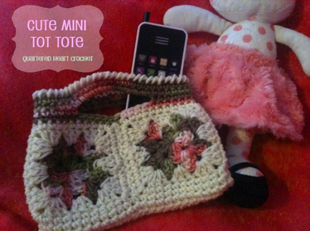 Free Crochet Pattern: Crochet Toddler Purse