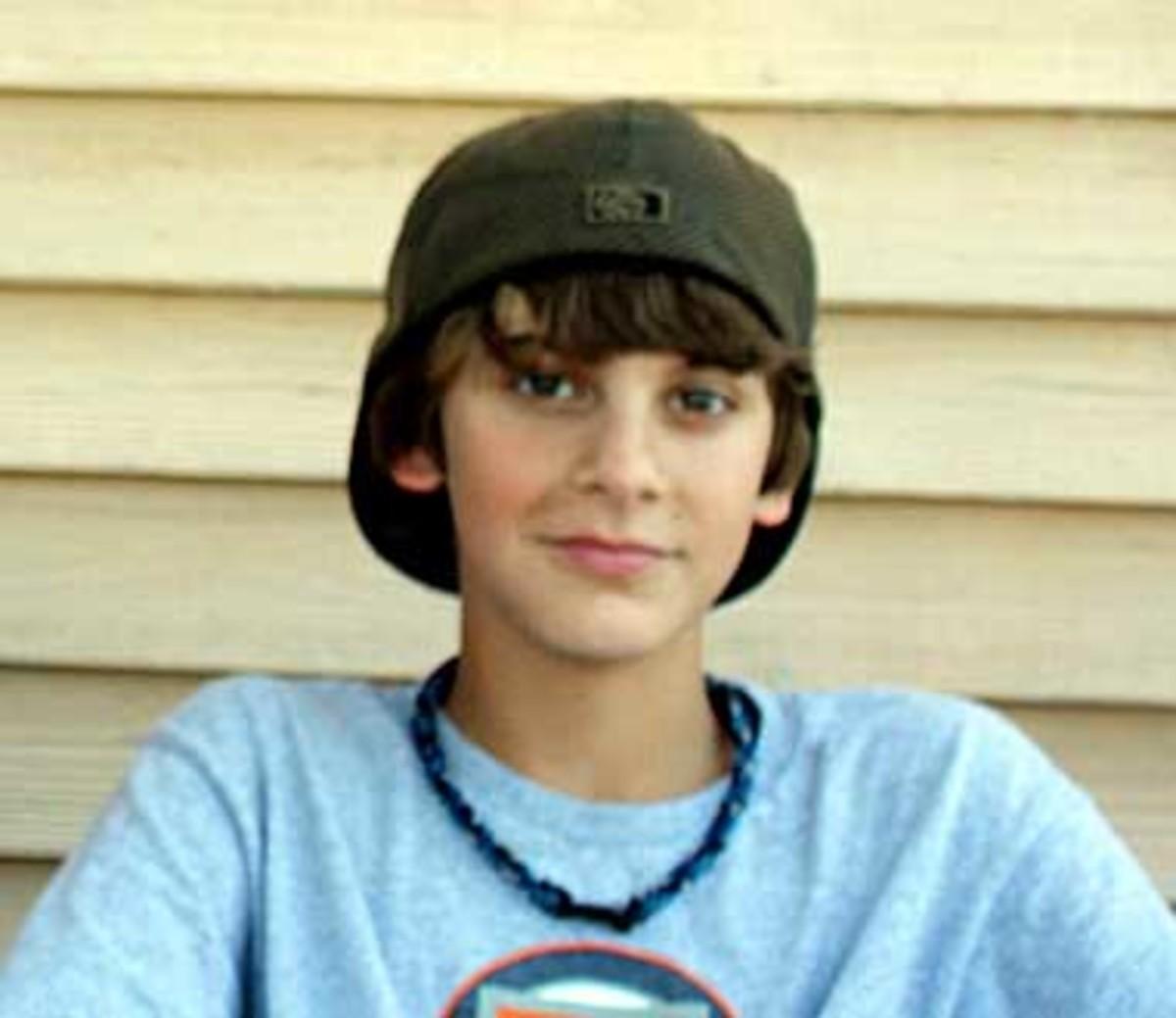 Kameron Jacobsen, 14-years-old, victim of bullying