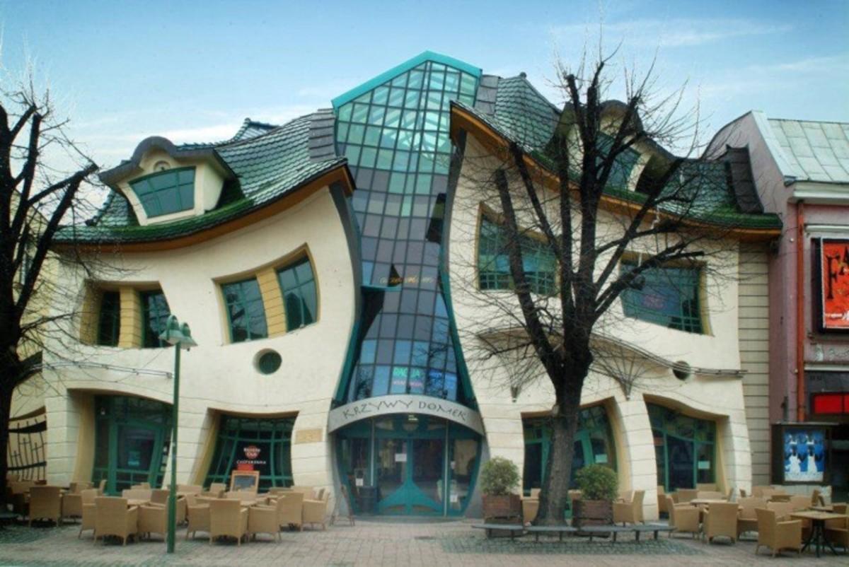 Famous Architect Buildings unique architecture building: the crooked house poland | hubpages