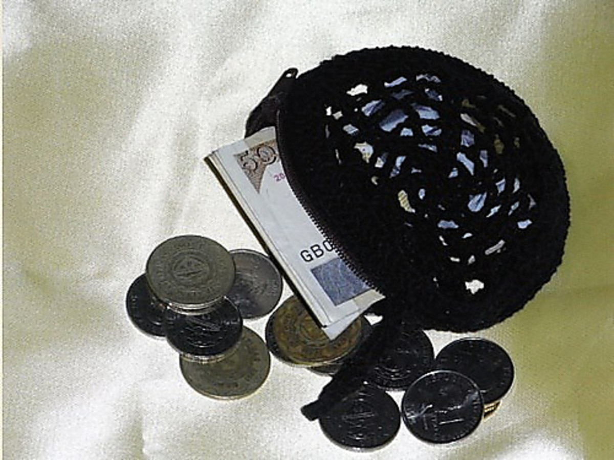 Spider Web Coin Purse - Free Pattern