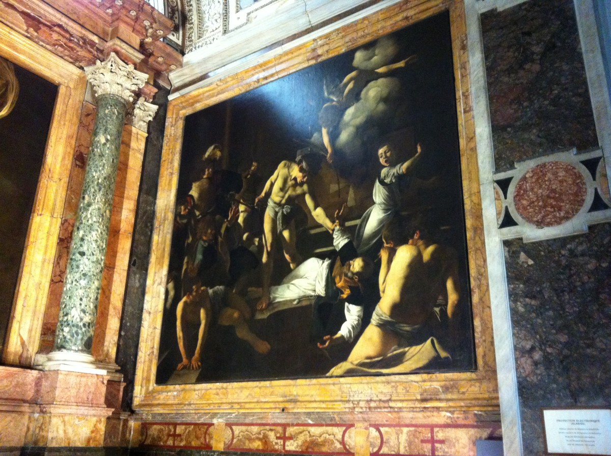 The Martyrdom of St Matthew Caravaggio 16th century