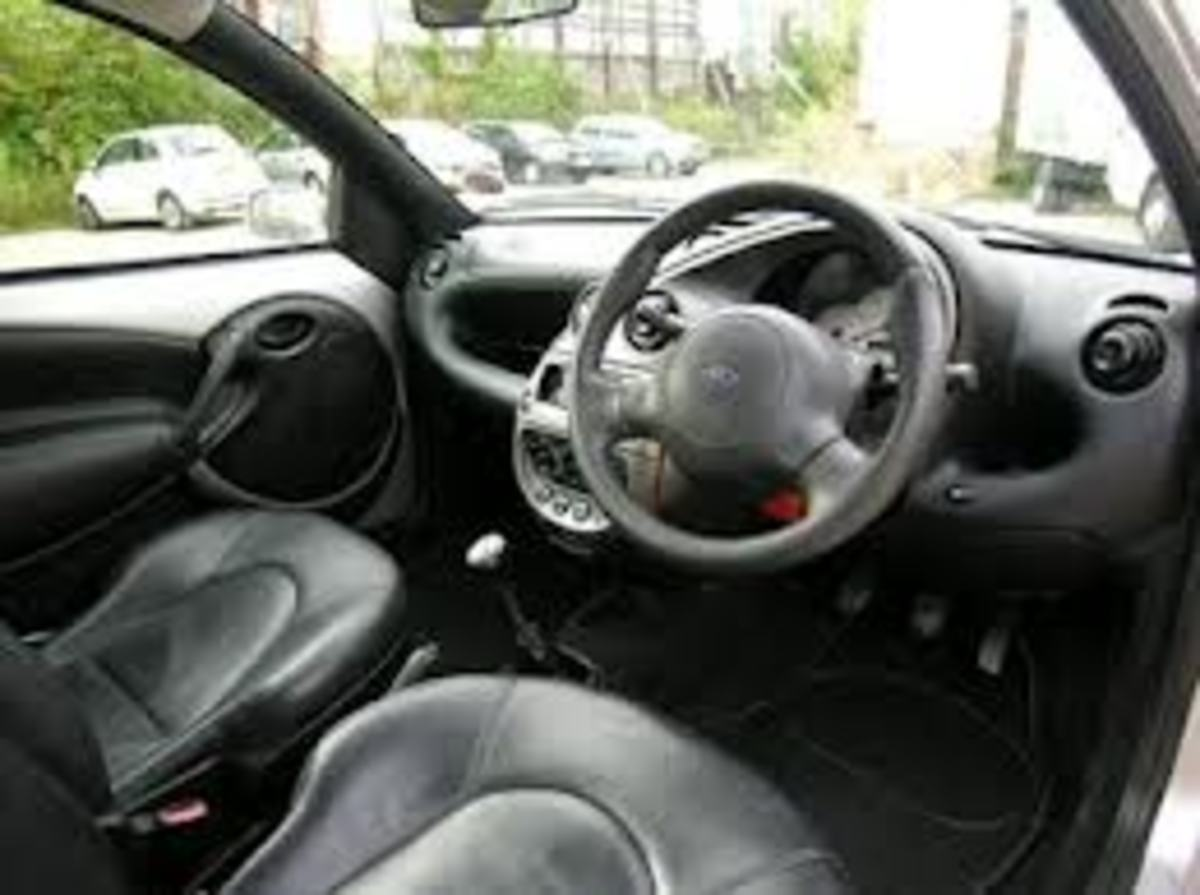 ford ka noise behind steering wheel hubpages. Black Bedroom Furniture Sets. Home Design Ideas