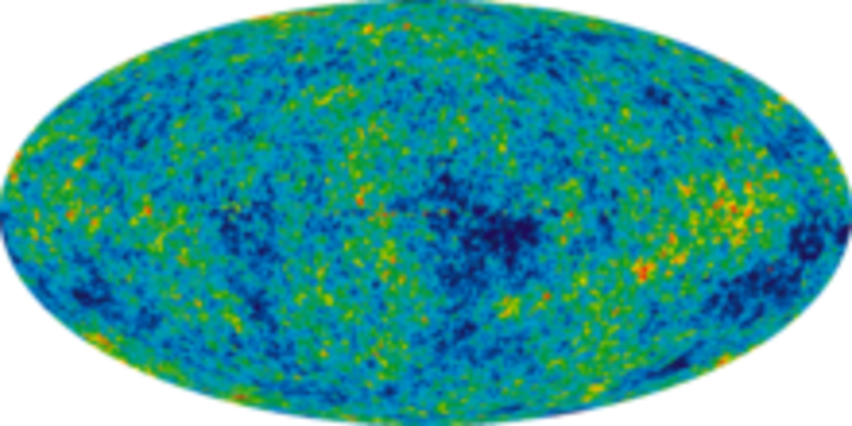 A PICTURE OF THE UNIVERSE WHEN IT WAS A MERE 377,000 YEARS OLD - Picture 1