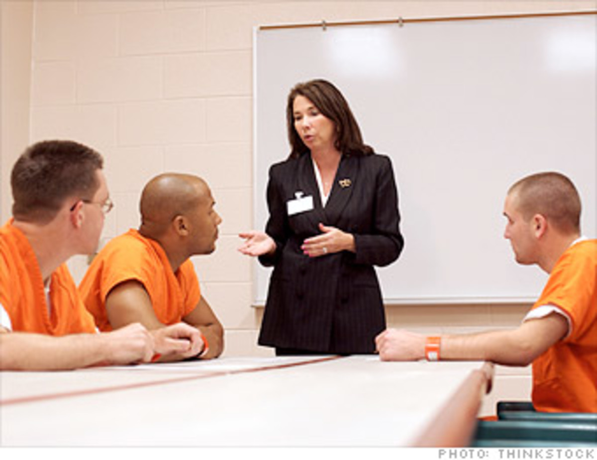 rehabilitation of criminals With fewer prisoners, prisons will have greater budgets for rehabilitation programs that would greatly benefit not only those prisoners, but society as a whole, with those prisoners less likely to return to a life of crime once they get out of prison.