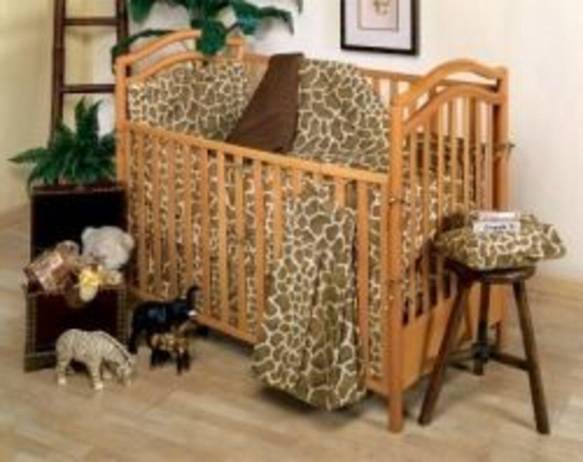 Giraffe Print Baby Bedding