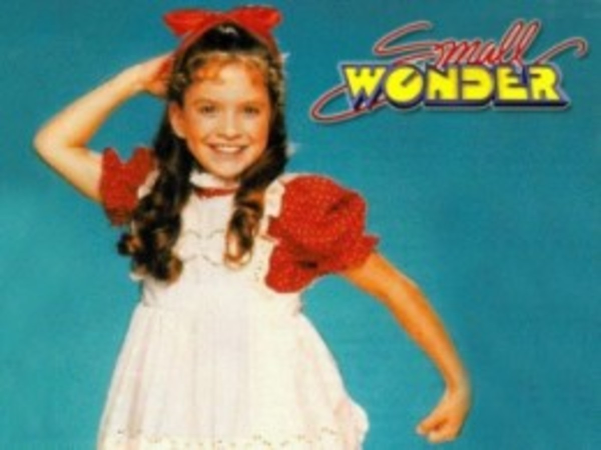Tiffany Brissette as Vicki in Small Wonder