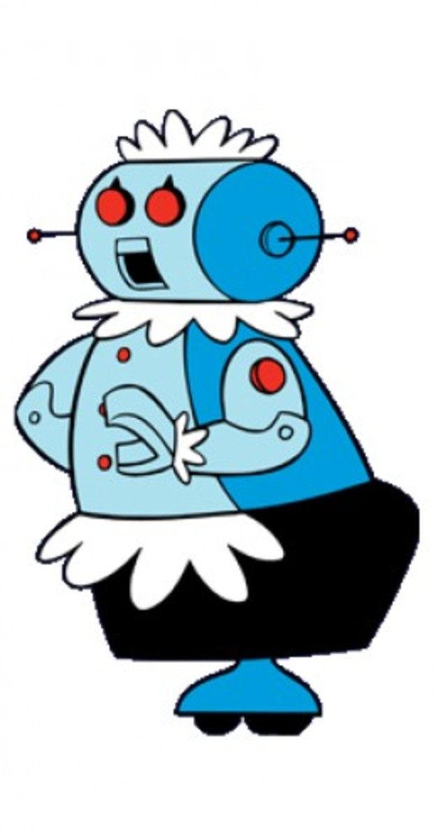 Rosey The Robot from The Jetsons