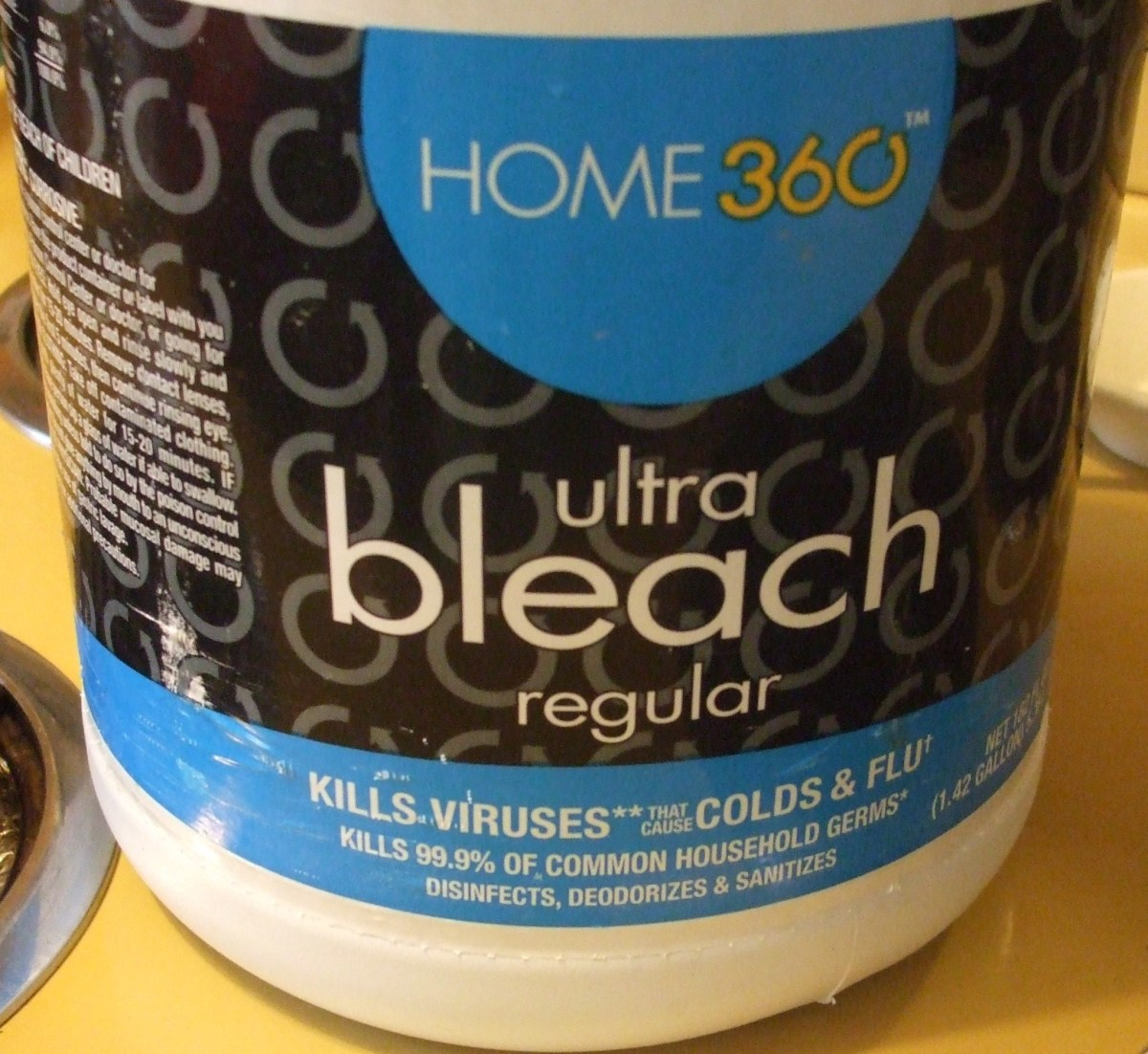 Household bleach.