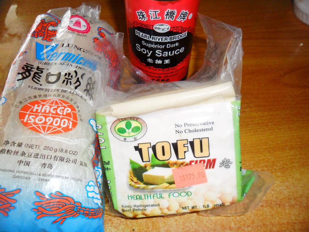 Put ingredients together