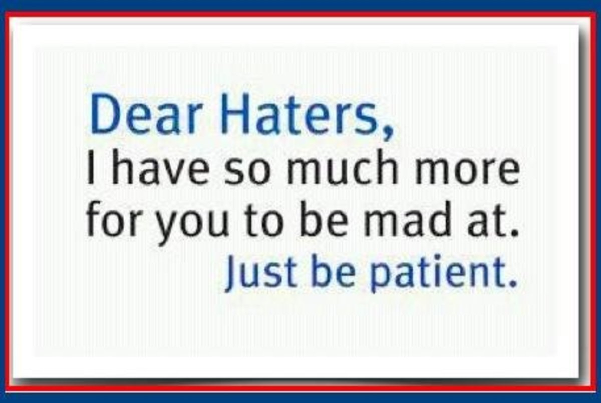 Funny Quotes about Haters and Jealousy | hubpages