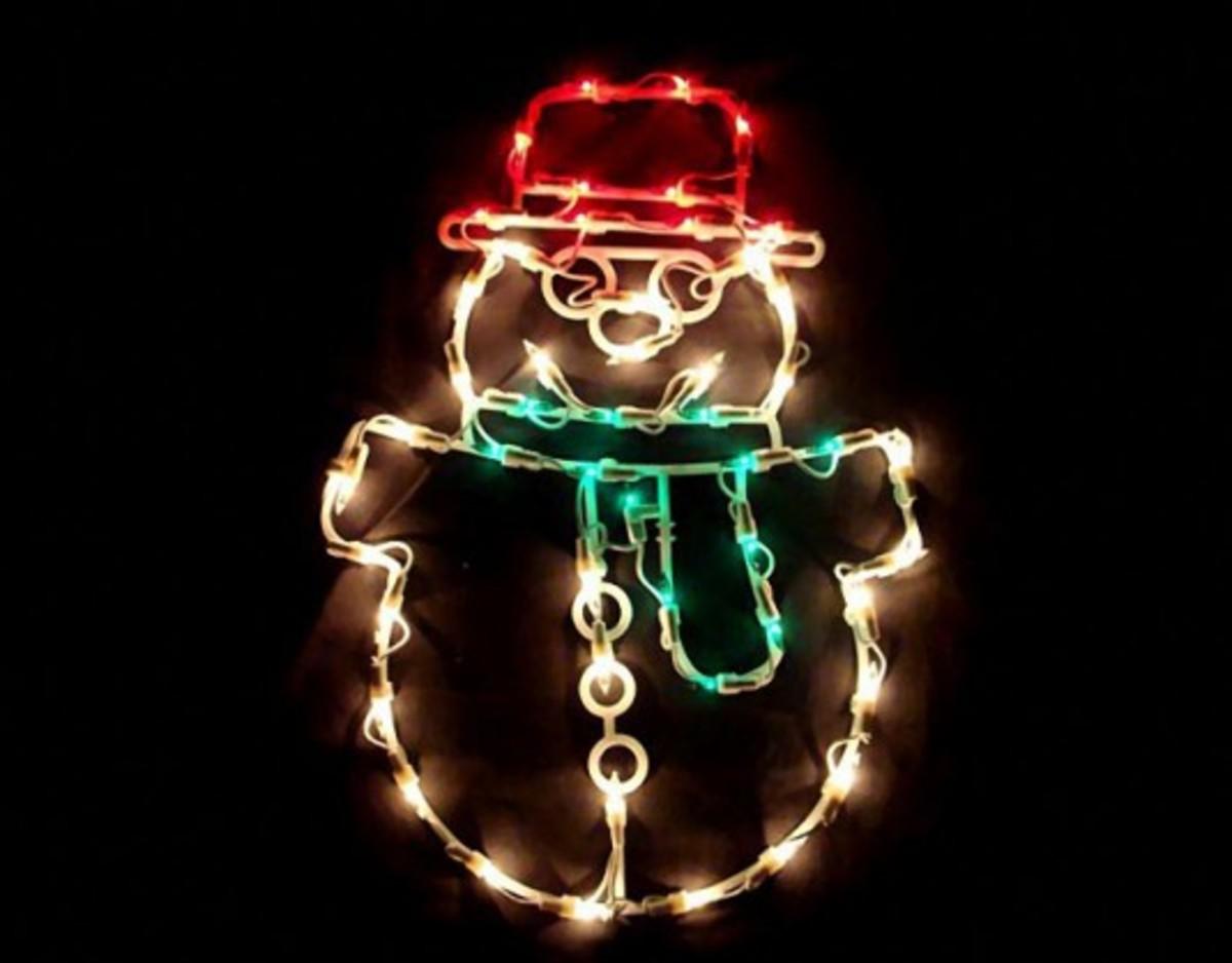 snowman silhouette