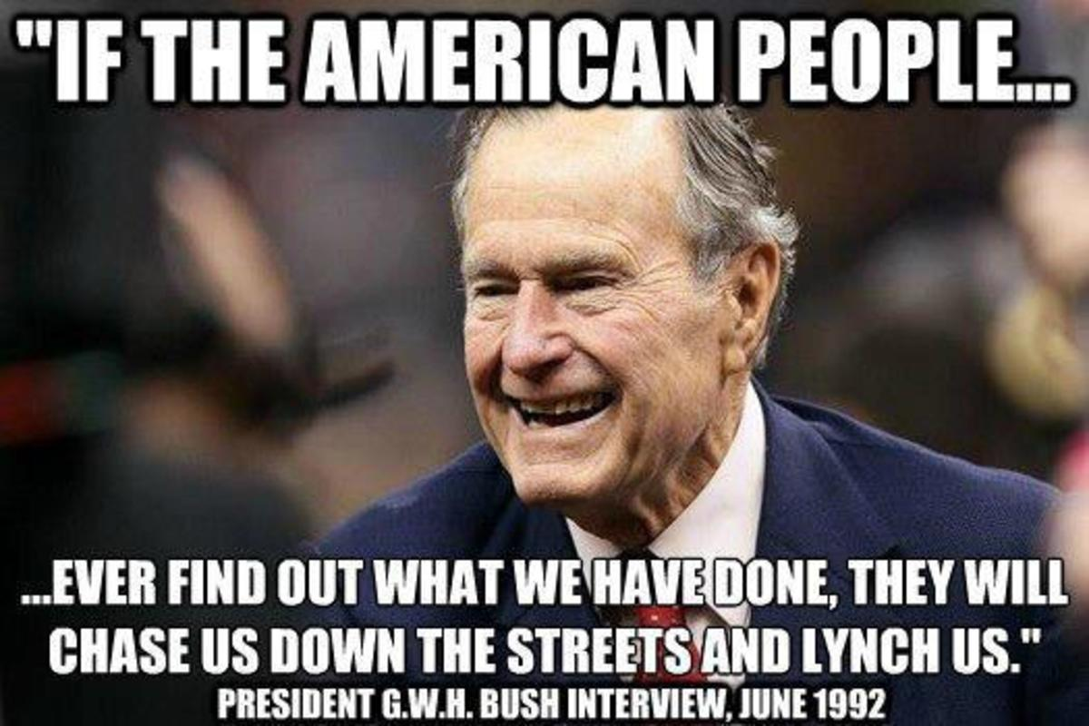 George Herbert Walker Bush - Prophet Of A New World Order