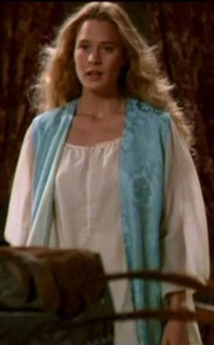 Robin Wright as Princess Buttercup from The Princess Bride
