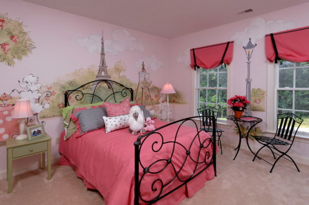 Beautiful Paris Themed Bedroom Decor Ideas