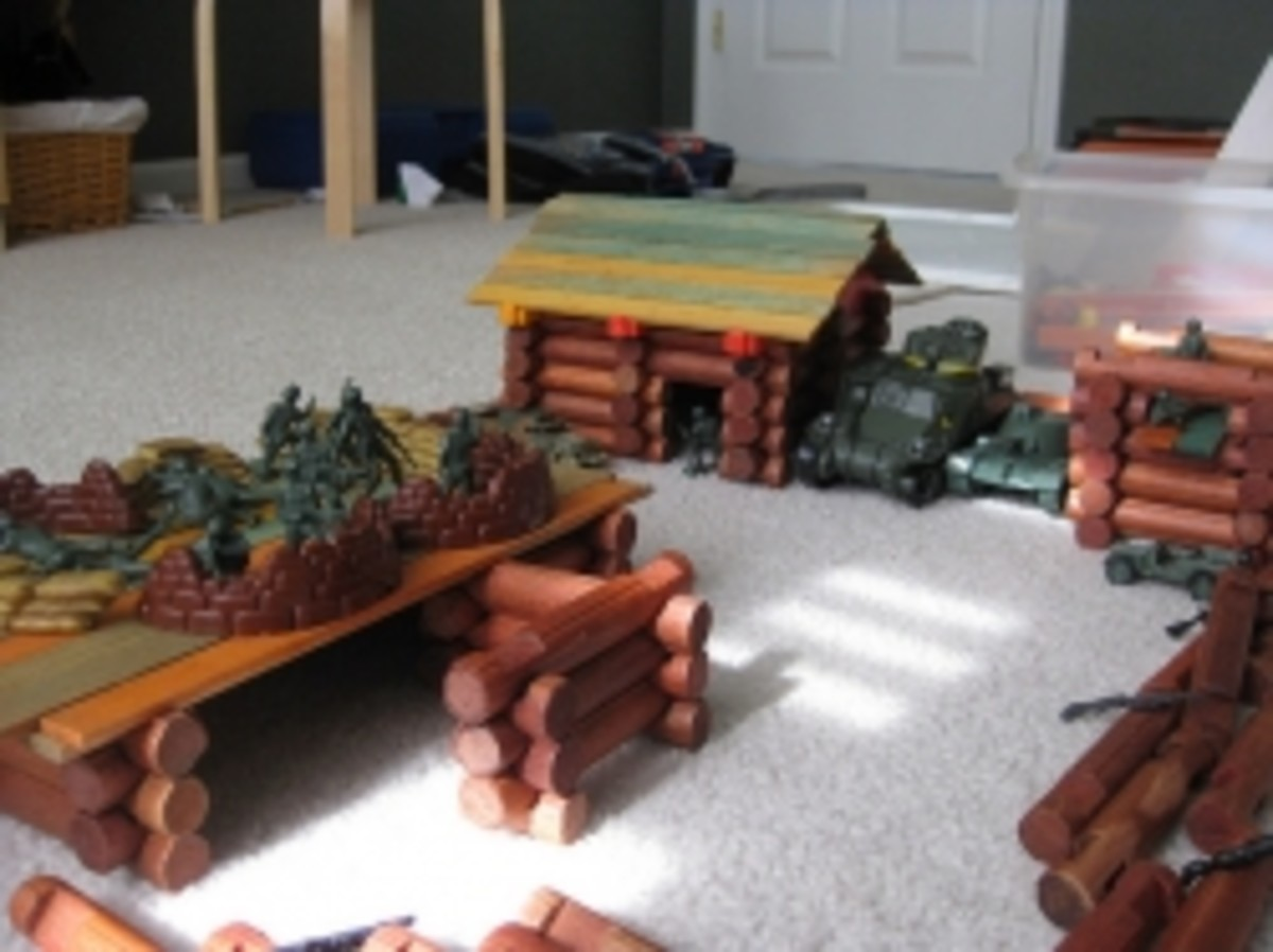 Lincoln Logs Building Ideas