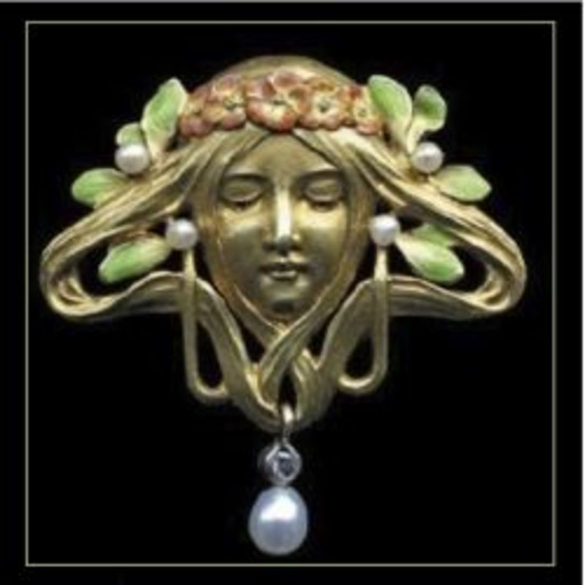 Art Nouveau Antique, Vintage & New Jewelry