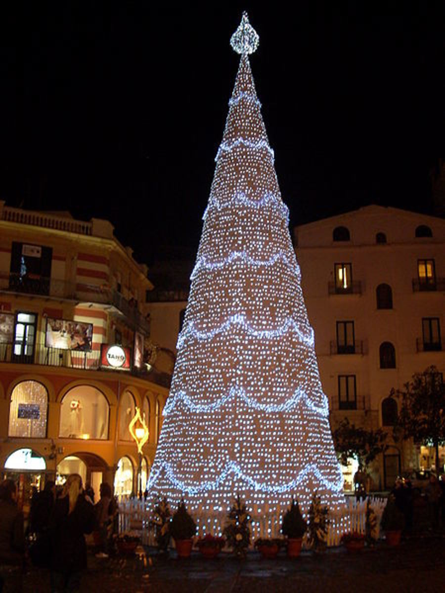 Christmas Tree in Italy, 2008