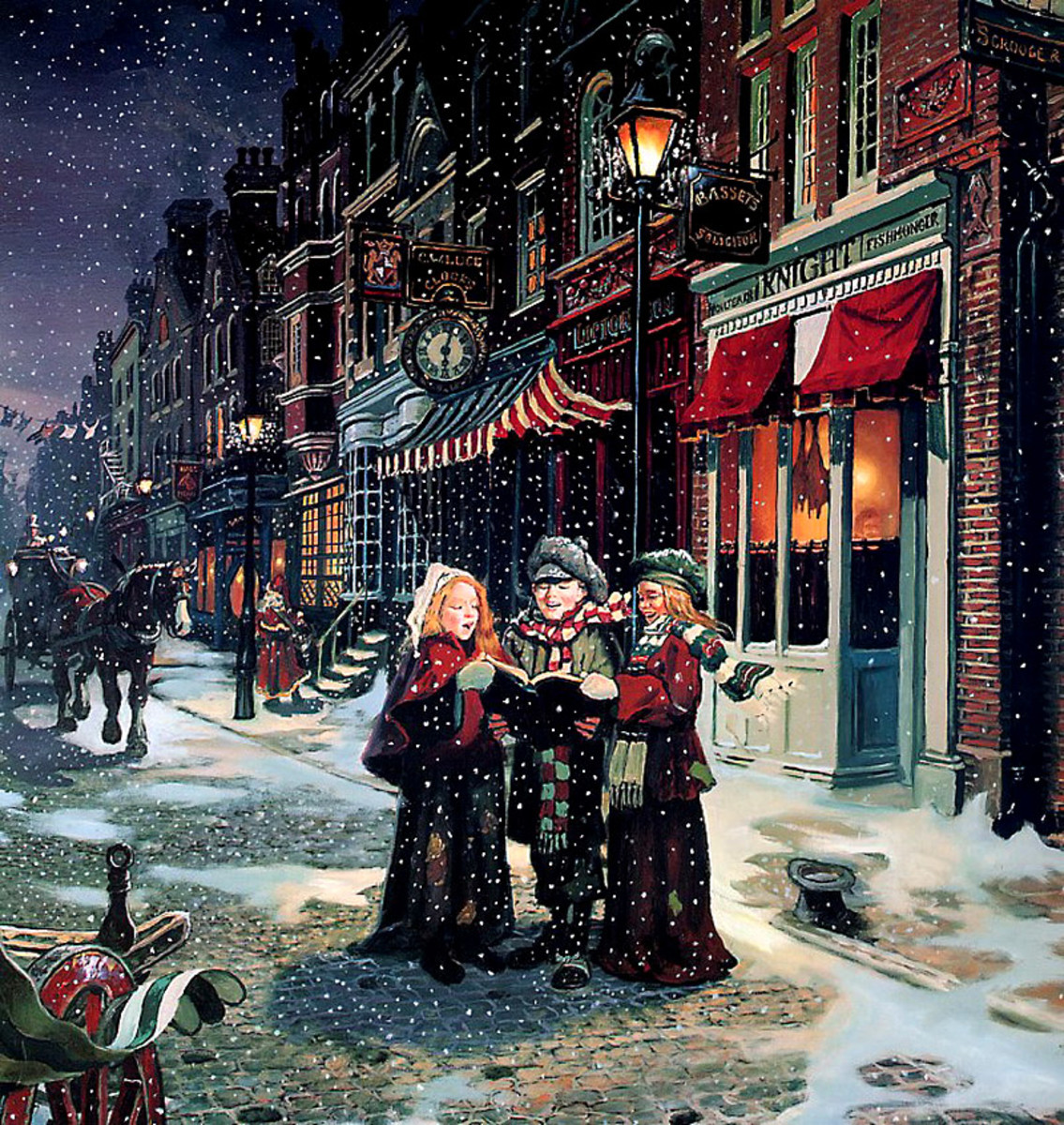 1000 Images About A Christmas Carol On Pinterest: 30 Favourite Christmas Carols