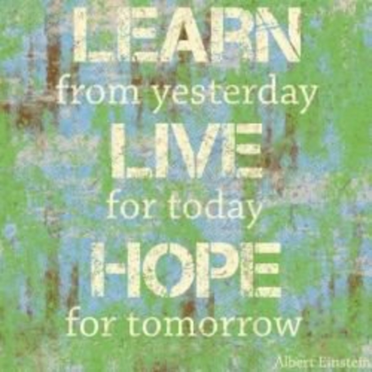 Learn Live Hope Poster at AllPosters