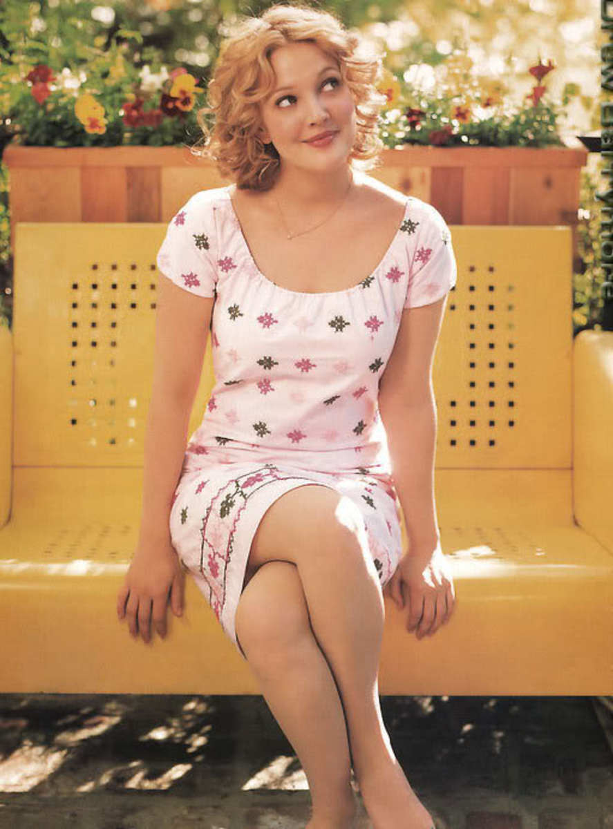 Drew Barrymore---Shines Brightly.