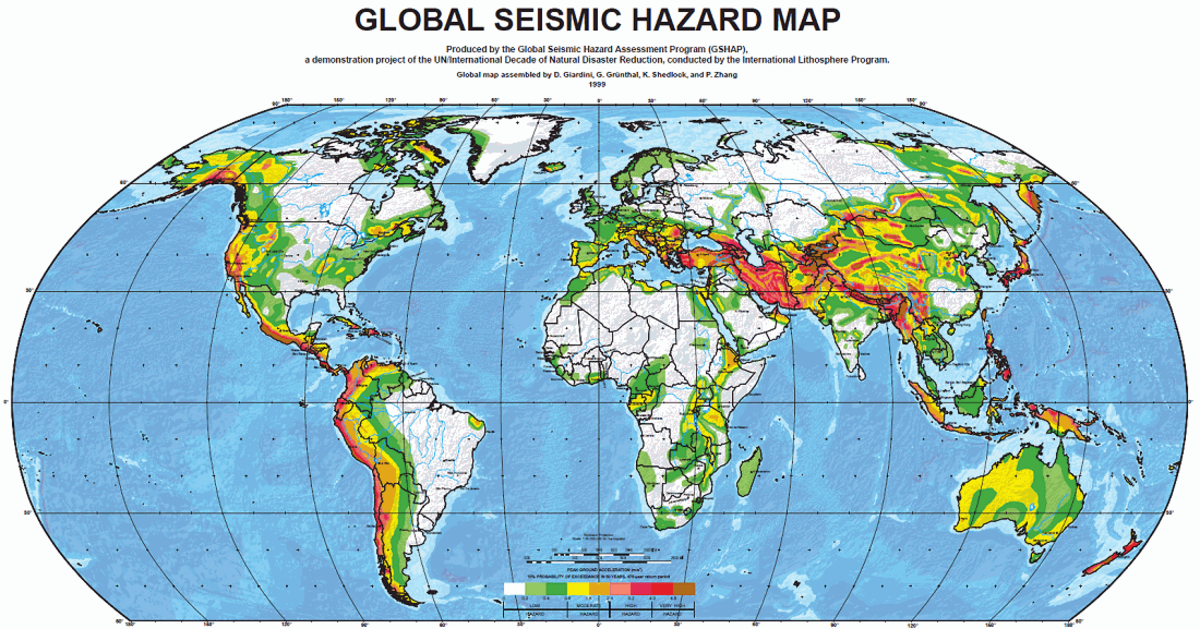 25 Global Links Related to Earthquakes (databases-maps)