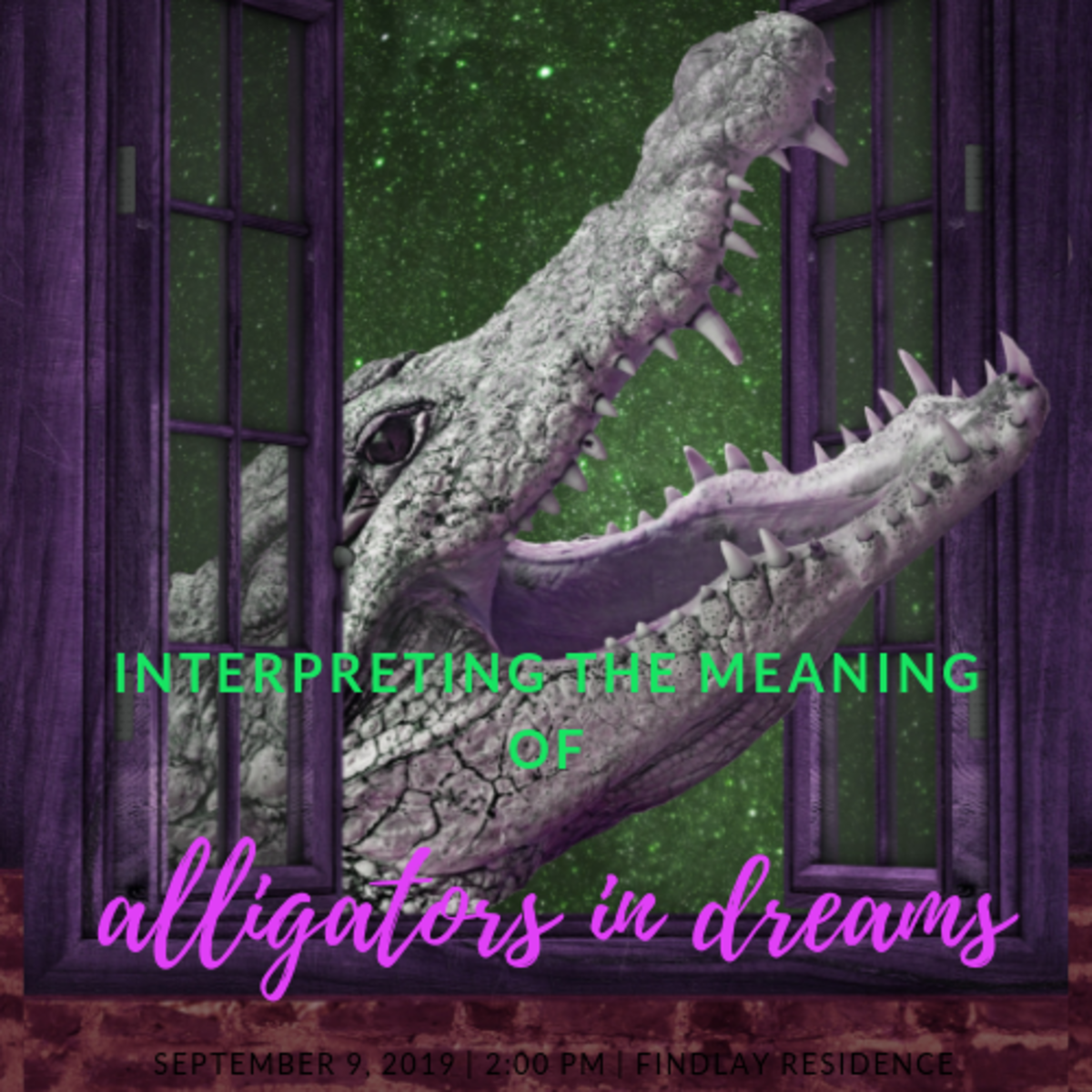 How to Interpret Alligators and Crocodiles as Dream Symbols